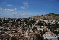 Vista panoramica di Granada Immagine Stock Libera da Diritti