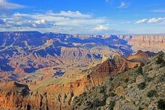 Vista panoramica di Grand Canyon, U.S.A. Fotografia Stock
