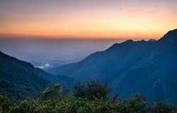 Vista panoramica di Islamabad, Pakistan immagine stock libera da diritti