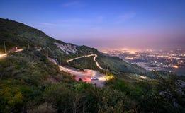 Vista panoramica di Islamabad, Pakistan immagine stock