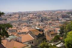 Vista panoramica di Lisbona, Portogallo, Europa Immagine Stock