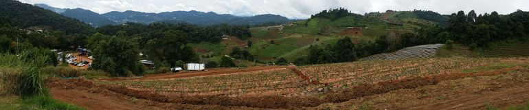 Vista panoramica di lunedì Cham Fotografia Stock