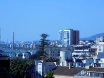 Vista panoramica di Malaga fotografia stock libera da diritti