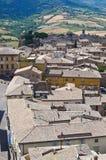 Vista panoramica di Orvieto. L'Umbria. L'Italia. Fotografia Stock