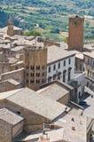 Vista panoramica di Orvieto. L'Umbria. L'Italia. Fotografia Stock Libera da Diritti
