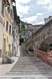 Vista panoramica di Perugia. L'Umbria. Fotografie Stock