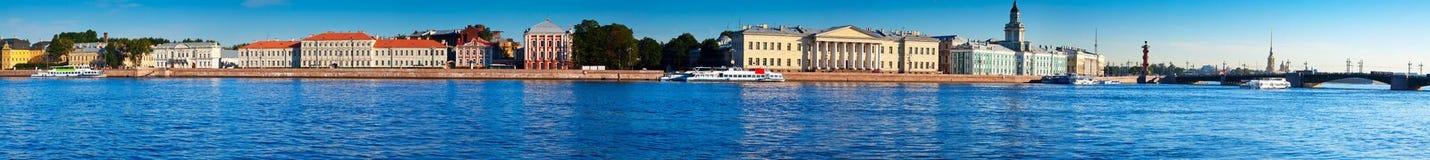 Vista panoramica di San Pietroburgo fotografie stock libere da diritti