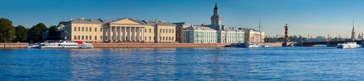 Vista panoramica di San Pietroburgo fotografia stock libera da diritti