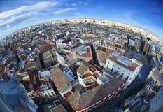 Vista panoramica di Valencia, Spagna immagine stock libera da diritti