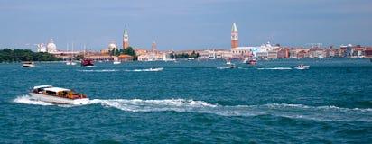 Vista panoramica di Venezia - l'Italia Fotografie Stock