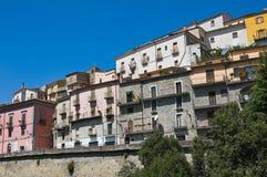 Vista panoramica di Viggianello La Basilicata L'Italia Fotografie Stock Libere da Diritti
