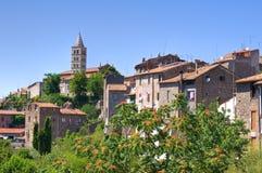 Vista panoramica di Viterbo. Il Lazio. L'Italia. Fotografie Stock Libere da Diritti