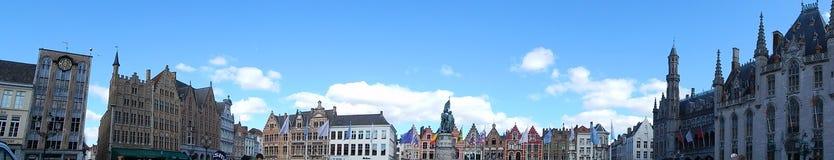 Vista panoramica europea di architettura Immagini Stock