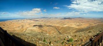 Vista panoramica a Fuerteventura Immagini Stock Libere da Diritti