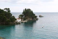 Vista panoramica in Grecia Fotografia Stock
