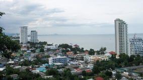 Vista panoramica a Hua Hin Fotografia Stock