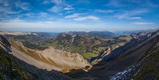Vista panoramica II delle alpi svizzere Immagine Stock Libera da Diritti