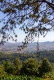Vista panoramica a Khao Kho PalacePratumnak Khao Kho, provincia di Phetchabun, Tailandia del Nord Immagini Stock Libere da Diritti