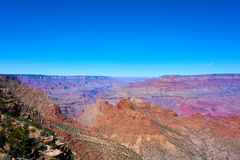 Vista panoramica sopra il paesaggio del Grand Canyon Fotografie Stock Libere da Diritti