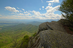 Vista panoramica stupefacente Fotografia Stock