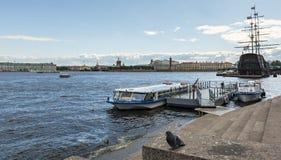 Vista panoramica sul centro storico di Sankt Pietroburgo, Russia Fotografia Stock