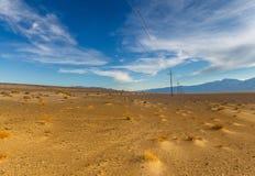 Vista panoramica sul parco nazionale di Death Valley Fotografie Stock