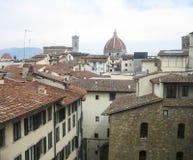 Vista panoramica a vecchia Firenze Fotografia Stock