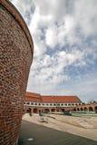 Vista panorámica del bastión Maria Theresia de Timisoara Imagenes de archivo