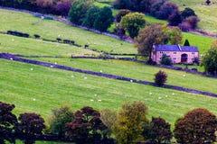 Vista para baixo em Castleton Foto de Stock