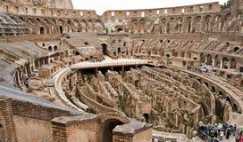 Vista para baixo no anfiteatro imagem de stock royalty free