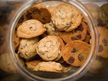Frasco de biscoito fotografia de stock royalty free