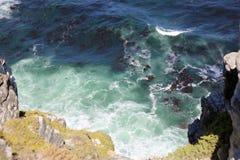 Vista para Cape Town do ponto do cabo, Afri sul imagem de stock royalty free