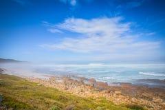 Vista para Cape Town do ponto do cabo, Afri sul Imagens de Stock Royalty Free