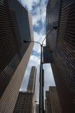 Vista para cima em New York Imagem de Stock