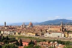 Vista para Florença fotografia de stock royalty free