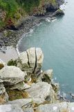 Vista para fora ao mar Imagens de Stock Royalty Free