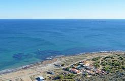 Vista para fora ao mar Foto de Stock