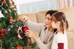 Vista para a frente ao Natal - imagem conservada em estoque Fotografia de Stock