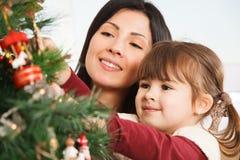 Vista para a frente ao Natal - imagem conservada em estoque Fotografia de Stock Royalty Free