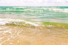Vista para o mar bonita Imagens de Stock Royalty Free
