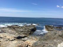 Vista para o mar da cauda do castor Imagens de Stock