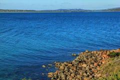 Vista para o mar de Albany, Austrália Fotografia de Stock