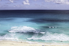 Vista para o mar de Arial Fotos de Stock Royalty Free