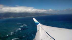 Vista para o mar de Maui Havaí Fotos de Stock Royalty Free