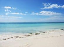 Vista para o mar maravilhosa em zanzibar imagem de stock royalty free