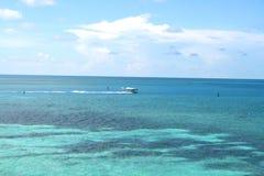 Vista para o mar no parque nacional seco de Tortugas fotografia de stock royalty free