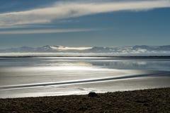 Vista para Vatnajokull Foto de Stock