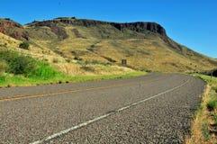 Vista para a vista na estrada aberta Imagem de Stock