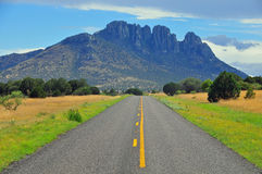 Vista para a vista no Estrada-majestoso aberto Imagens de Stock Royalty Free