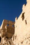 Vista parcial de ruínas de Guge Imagens de Stock